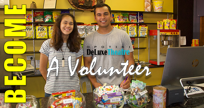Opotiki Deluxe Theatre - Volunteers